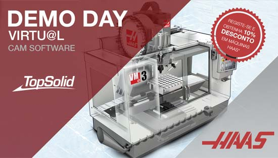 Topsolid no HAAS Demo Day