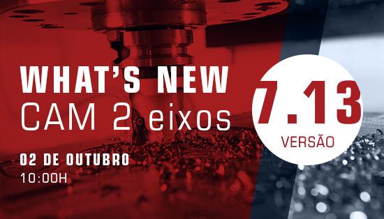 WEBINAR TopSolid'CAM- Novidades de CAM 2 Eixos na versão 7.13