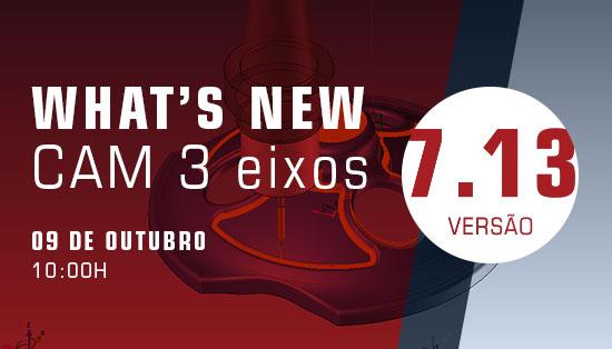 WEBINAR TopSolid'CAM- Novidades de CAM 3 Eixos na versão 7.13