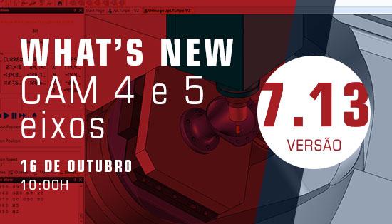 WEBINAR TopSolid'CAM- Novidades de CAM 4 e 5 Eixos na versão 7.13