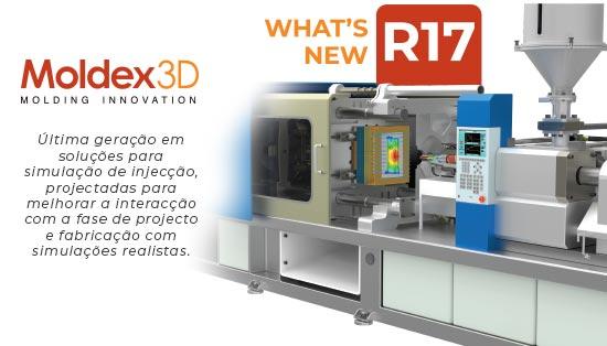 Moldex 3D - Novidades da versão R17