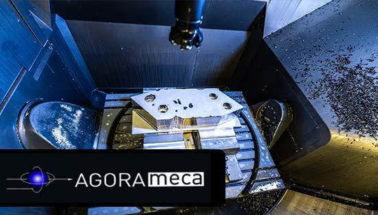Agorameca, especialista em maquinação de peças personalizadas