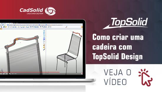 Como criar uma cadeira com TopSolid Design