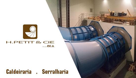 A caldeiraria industrial H. Petit & Cia combina versatilidade e competência