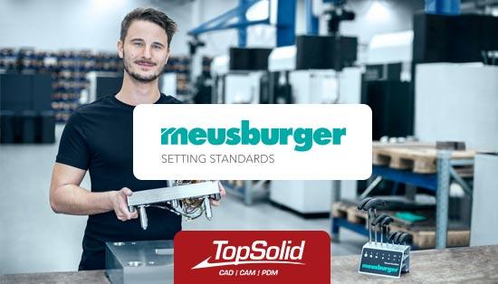 Meusburger aposta em TopSolid para a maquinação de produtos à medida