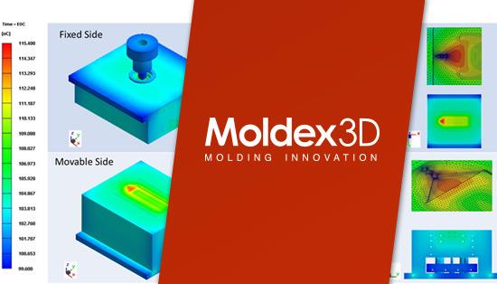 Moldex 3D - Análise de Molde Completo