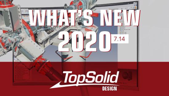 Principais novidades do TopSolid CAD 2020