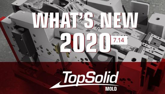 Principais novidades do TopSolid Mold 2020
