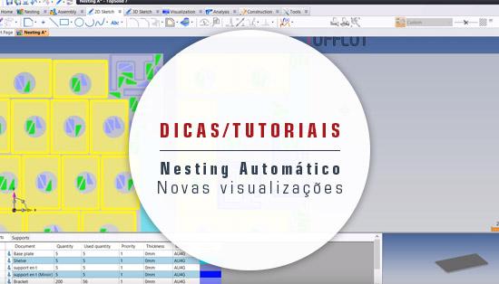 Nesting Automático - Novas visualizações