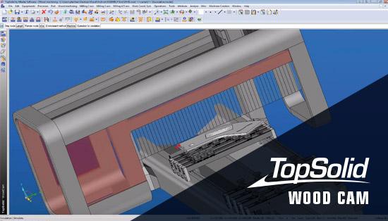 TopSolid Wood CAM – Software de fabrico para carpintaria