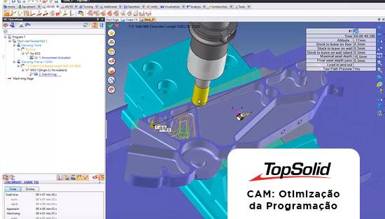 TopSolid CAM - Otimização da programação