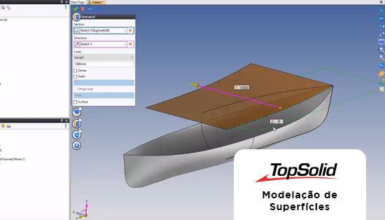 TopSolid - Modelação de Superfícies